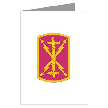 256SC - M01 - 02 - DUI - 256th Signal Company - Greeting Cards (Pk of 10)