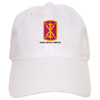 256SC - A01 - 01 - DUI - 256th Signal Company with Text - Cap