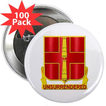 "263ADAB - M01 - 01 - DUI - 263rd Air Defense Artillery Brigade - 2.25"" Button (100 pack)"