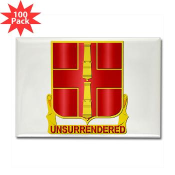 263ADAB - M01 - 01 - DUI - 263rd Air Defense Artillery Brigade - Rectangle Magnet (100 pack)