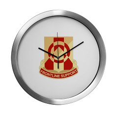 296BSB - M01 - 03 - DUI - 296th Bde - Support Bn - Modern Wall Clock