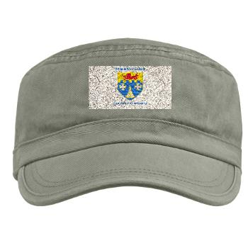 2B12IR - A01 - 01 - DUI - 2nd Battalion - 12th Infantry Regiment with Text - Military Cap