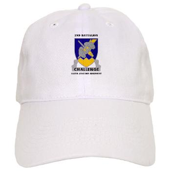 2B158AR - A01 - 01 - 2nd Battalion, 158th Aviation Regiment with Text - Cap