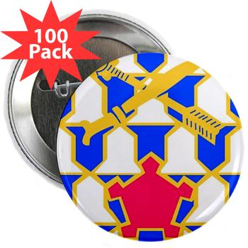 "2B16IR - M01 - 01 - DUI - 2nd Battalion - 16th Infantry Regiment - 2.25"" Button (100 pack)"