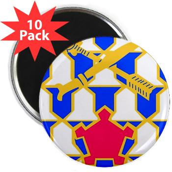 "2B16IR - M01 - 01 - DUI - 2nd Battalion - 16th Infantry Regiment - 2.25"" Magnet (10 pack)"