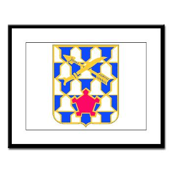 2B16IR - M01 - 02 - DUI - 2nd Battalion - 16th Infantry Regiment - Large Framed Print
