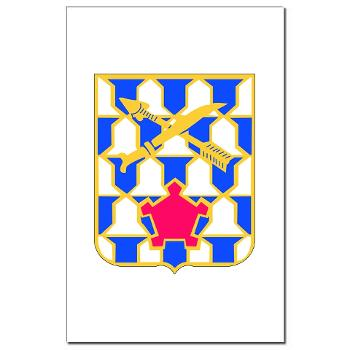2B16IR - M01 - 02 - DUI - 2nd Battalion - 16th Infantry Regiment - Mini Poster Print