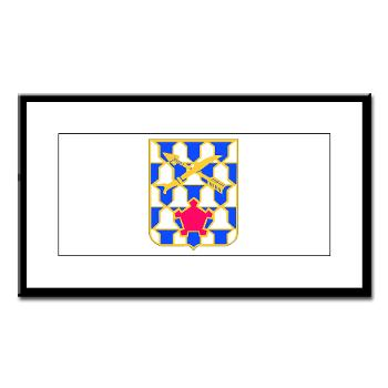 2B16IR - M01 - 02 - DUI - 2nd Battalion - 16th Infantry Regiment - Small Framed Print