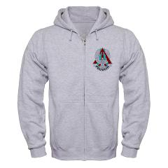 2B227AR - A01 - 03 - DUI - 2nd Bn - 227th Aviation Regt - Zip Hoodie