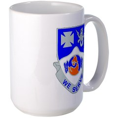 2B23IR - M01 - 03 - DUI - 2nd Battalion - 23rd Infantry Regiment Large Mug