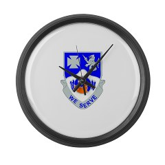 2B23IR - M01 - 03 - DUI - 2nd Battalion - 23rd Infantry Regiment Large Wall Clock