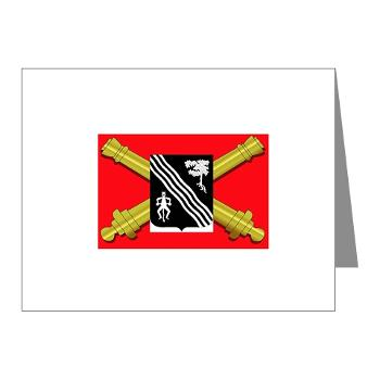 2B305FAR - M01 - 02 - DUI - 2nd Bn 305 Regt FA-177TH Armored Brigade - Note Cards (Pk of 20)