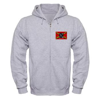 2B305FAR - A01 - 03 - DUI - 2nd Bn 305 Regt FA-177TH Armored Brigade - Zip Hoodie