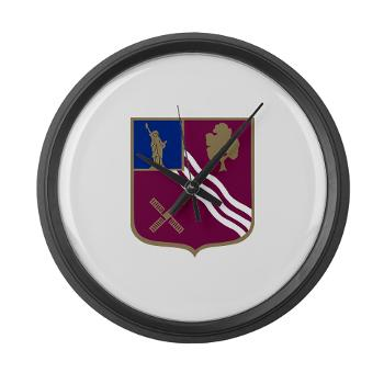 2B306FAR - M01 - 03 - DUI - 2nd Bn - 306th FA Regt - Large Wall Clock