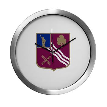 2B306FAR - M01 - 03 - DUI - 2nd Bn - 306th FA Regt - Modern Wall Clock