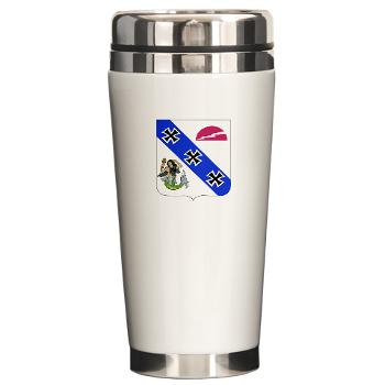 2B309RTSCSCSS - M01 - 03 - DUI - 2nd Bn - 309th Regt (TS) (CS/CSS) - Ceramic Travel Mug