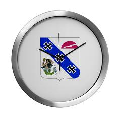 2B309RTSCSCSS - M01 - 03 - DUI - 2nd Bn - 309th Regt (TS) (CS/CSS) - Modern Wall Clock