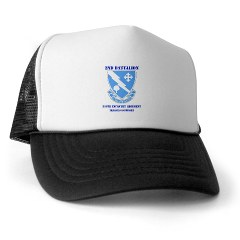 2B310ITS - A01 - 02 - DUI - 2nd Battalion - 310th Infantry (TS) with Text Trucker Hat