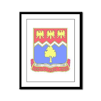 2B311IR - M01 - 02 - DUI - 2nd Bn - 311 Infantry Regt - Framed Panel Print