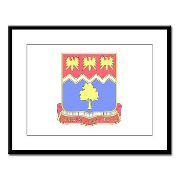 2B311IR - M01 - 02 - DUI - 2nd Bn - 311 Infantry Regt - Large Framed Print