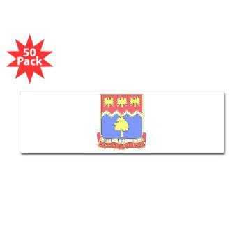 2B311IR - M01 - 01 - DUI - 2nd Bn - 311 Infantry Regt - Sticker (Bumper 50 pk)