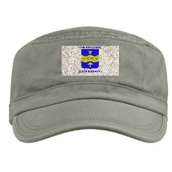 2B315R - A01 - 01 -DUI - 2nd Bn - 315th Regt with Text - Military Cap