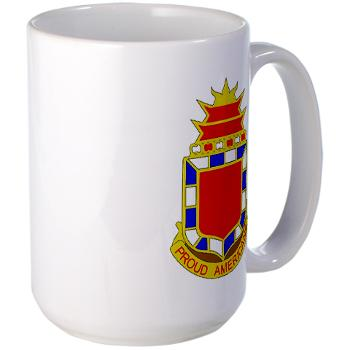 2B32FAR - M01 - 03 - DUI - 2nd Bn - 32nd Field Artillery Regiment Large Mug