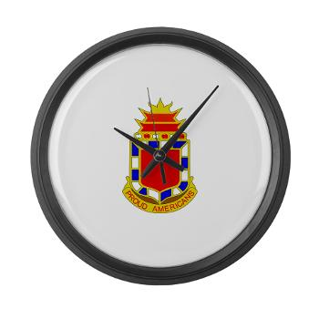 2B32FAR - M01 - 03 - DUI - 2nd Bn - 32nd Field Artillery Regiment Large Wall Clock