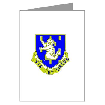 2B337RCSCSS - M01 - 02 - DUI - 2nd Bn - 337th Regiment CS/CSS Greeting Cards (Pk of 10)