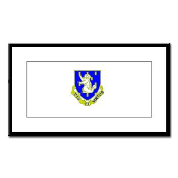 2B337RCSCSS - M01 - 02 - DUI - 2nd Bn - 337th Regiment CS/CSS Small Framed Print