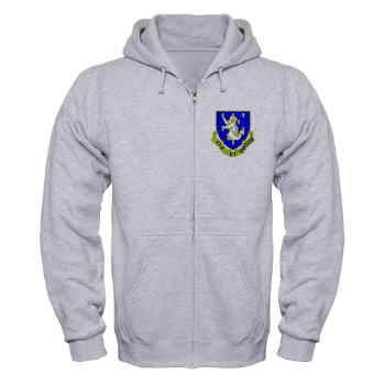 2B337RCSCSS - A01 - 03 - DUI - 2nd Bn - 337th Regiment CS/CSS Zip Hoodie