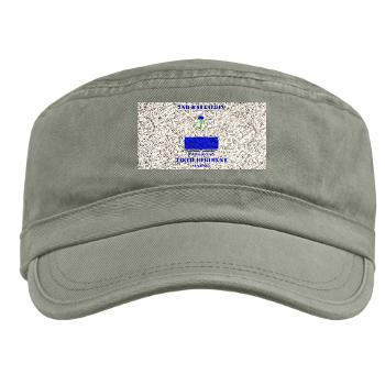 2B338R - A01 - 01 - DUI - 2nd Bn - 338th Regiment CS/CSS with Text Military Cap