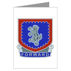 2B340RCSS - M01 - 02 - DUI - 2nd Bn - 340th Regt CSS Greeting Cards (Pk of 10)