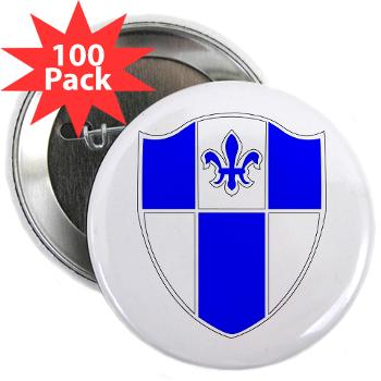 "2B345IR - M01 - 01 - DUI - 2nd Bn - 345th Infantry Regt 2.25"" Button (100 pack)"