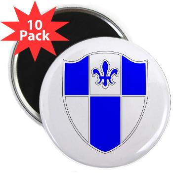 "2B345IR - M01 - 01 - DUI - 2nd Bn - 345th Infantry Regt 2.25"" Magnet (10 pack)"