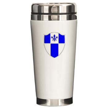 2B345IR - M01 - 03 - DUI - 2nd Bn - 345th Infantry Regt Ceramic Travel Mug