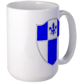2B345IR - M01 - 03 - DUI - 2nd Bn - 345th Infantry Regt Large Mug