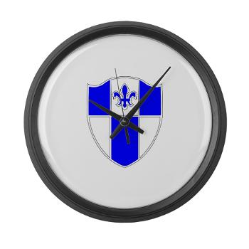 2B345IR - M01 - 03 - DUI - 2nd Bn - 345th Infantry Regt Large Wall Clock