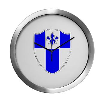 2B345IR - M01 - 03 - DUI - 2nd Bn - 345th Infantry Regt Modern Wall Clock