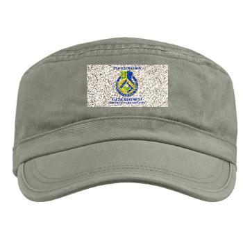 2B346R - A01 - 01 - DUI - 2nd Battalion - 346 Regiment - FSB with Text Military Cap