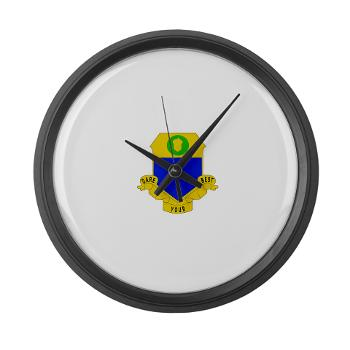 2B347IR - M01 - 03 - DUI - 2nd Bn - 347th Infantry Regt - Large Wall Clock