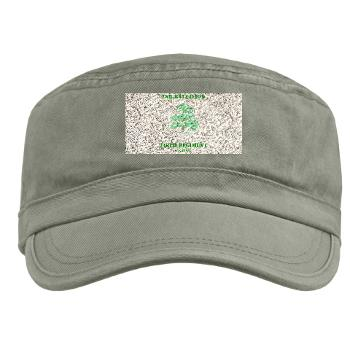 2B348RCSCSS - A01 - 01 - DUI - 2nd Battalion - 348th Regiment (CS/CSS) with Text - Military Cap