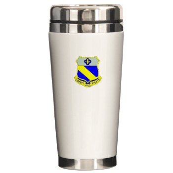 2B349R - M01 - 03 - DUI - 2nd Battalion - 349 Regt - Ceramic Travel Mug
