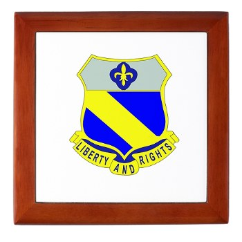 2B349R - M01 - 03 - DUI - 2nd Battalion - 349 Regt - Keepsake Box