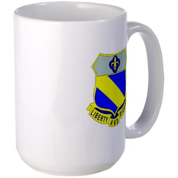 2B349R - M01 - 03 - DUI - 2nd Battalion - 349 Regt - Large Mug