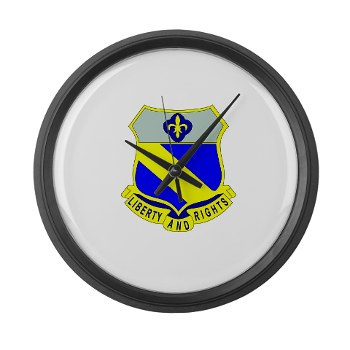 2B349R - M01 - 03 - DUI - 2nd Battalion - 349 Regt - Large Wall Clock