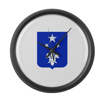 2B351IR - M01 - 03 - DUI - 2nd Bn - 351st Infantry Regt - Large Wall Clock