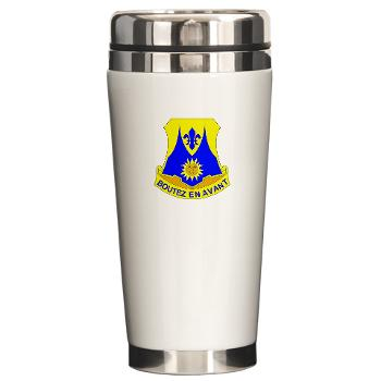 2B356R - M01 - 03 - DUI - 2nd Bn - 356th Regiment (LSB) Ceramic Travel Mug