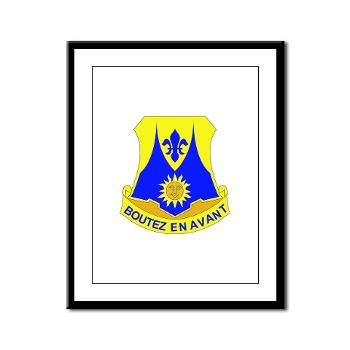 2B356R - M01 - 02 - DUI - 2nd Bn - 356th Regiment (LSB) Framed Panel Print