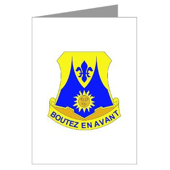 2B356R - M01 - 02 - DUI - 2nd Bn - 356th Regiment (LSB) Greeting Cards (Pk of 10)